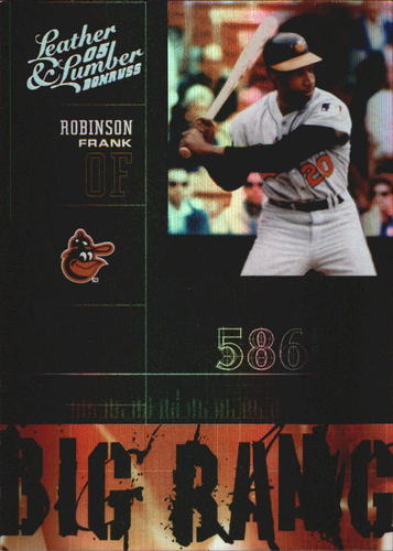 Photo of 2005 Leather and Lumber Big Bang Silver #11 Frank Robinson