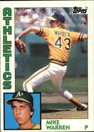 Photo of 1984 Topps #338 Mike Warren