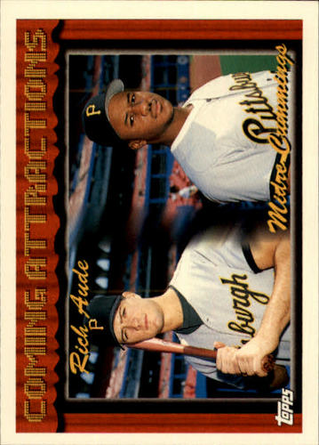 Photo of 1994 Topps #787 Rich Aude RC/M.Cummings