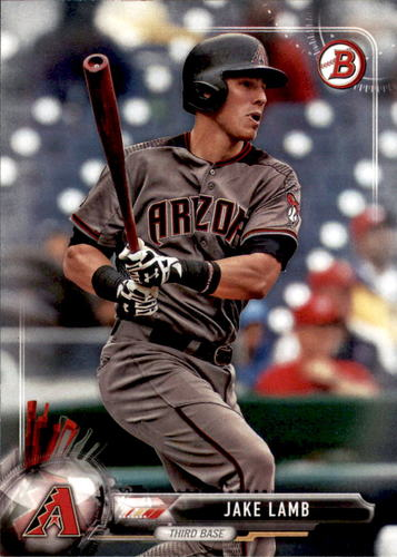 Photo of 2017 Bowman #71 Jake Lamb -- D'backs post-season