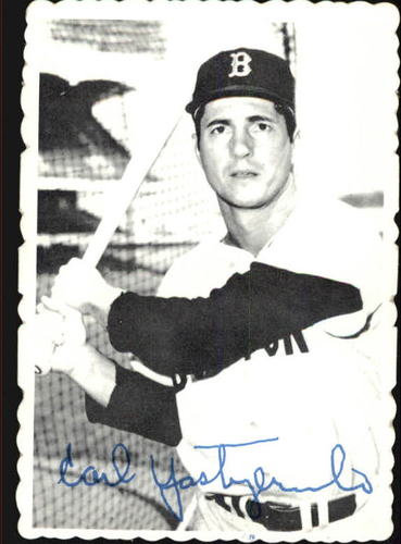 Photo of 1969 Topps Deckle Edge #4 Carl Yastrzemski