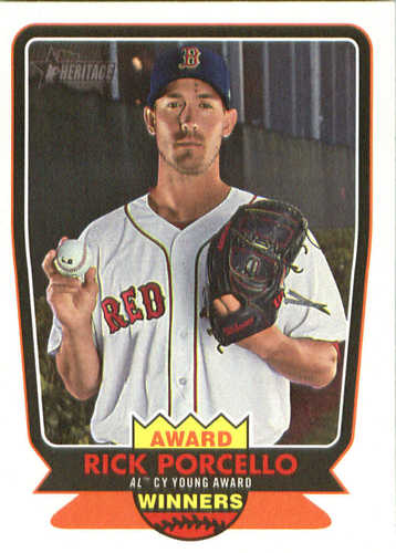 Photo of 2017 Topps Heritage Award Winners #AW1 Rick Porcello