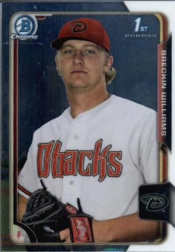 Photo of 2015 Bowman Chrome Draft #88 Breckin Williams