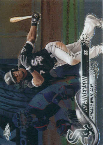 Photo of 2018 Topps Chrome #44 Tim Anderson