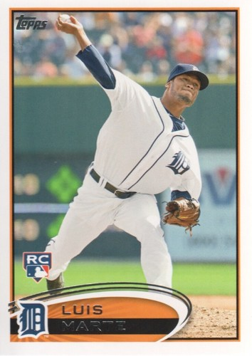 Photo of 2012 Topps #615 Luis Marte RC