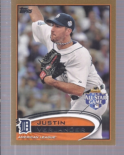 Photo of 2012 Topps Update Gold #US15 Justin Verlander
