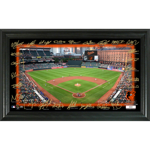 Photo of Baltimore Orioles  Signature Field Photo Frame