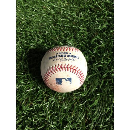 Game Used Baseball: Ryne Stanek strikes out Cody Bellinger - May 22, 2019 v LAD