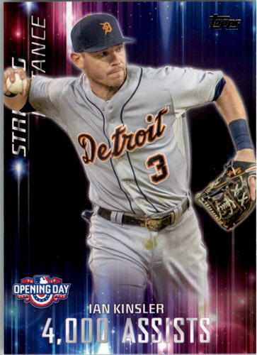 Photo of 2016 Topps Opening Day Striking Distance #SD11 Ian Kinsler