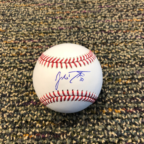Buster Posey BP28 Foundation - Autographed Baseball signed by Philadelphia Phillies Catcher JT Realmuto