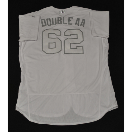 "Photo of Austin ""DOUBLE AA"" Allen San Diego Padres Game-Used 2019 Players' Weekend Jersey"