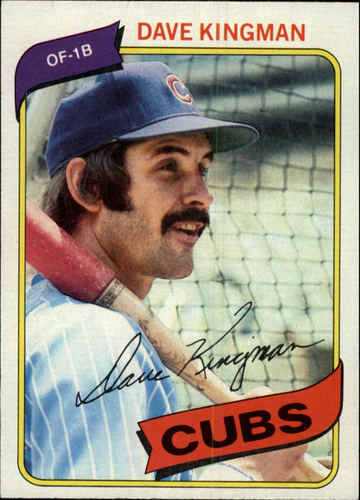 Photo of 1980 Topps #240 Dave Kingman