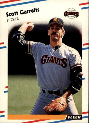 Photo of 1988 Fleer #82 Scott Garrelts