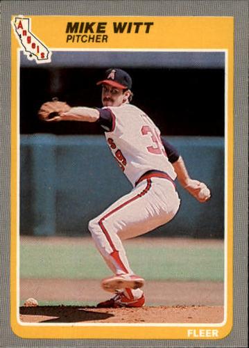 Photo of 1985 Fleer #316 Mike Witt