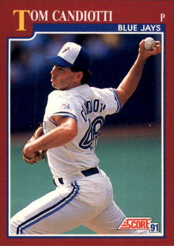 Photo of 1991 Score Rookie/Traded #31T Tom Candiotti