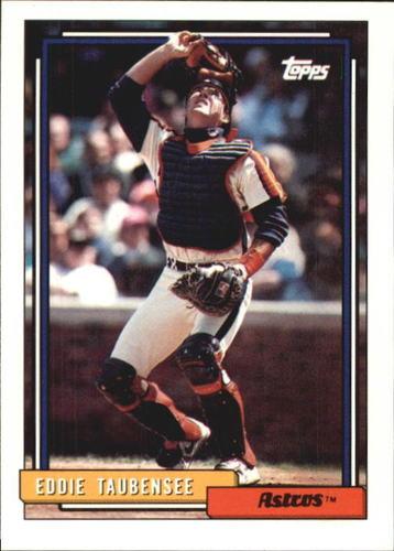 Photo of 1992 Topps Traded #117T Eddie Taubensee