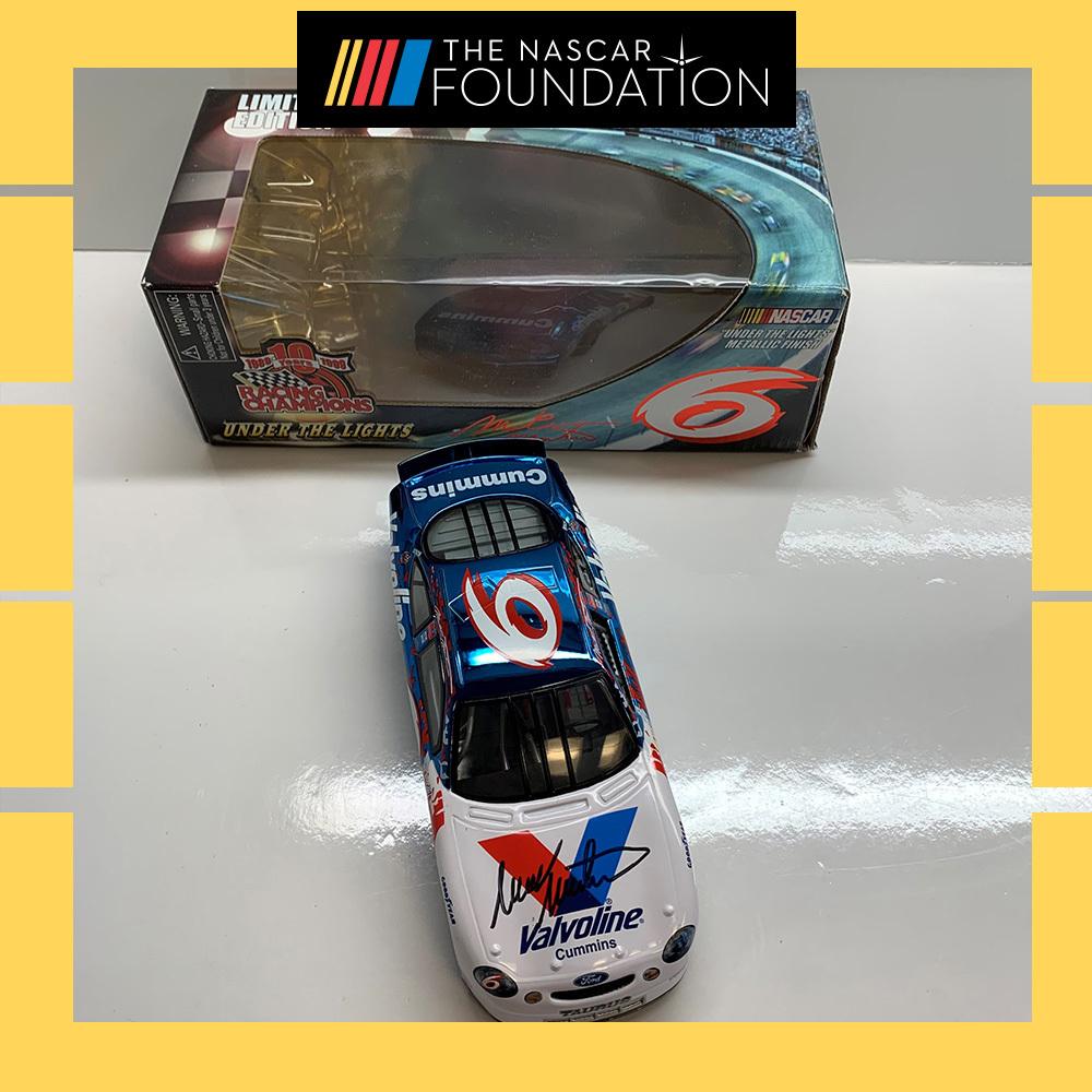 NASCAR's Mark Martin Autographed #6 Diecast!