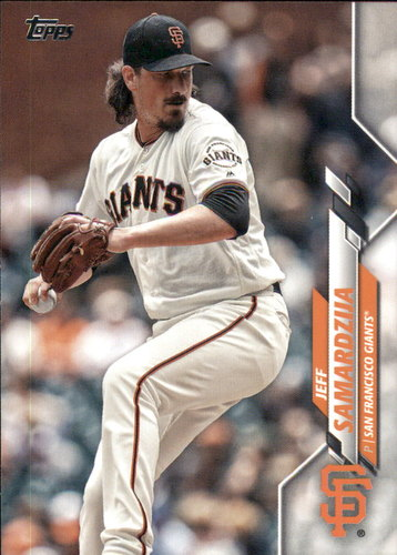 Photo of 2020 Topps #295 Jeff Samardzija
