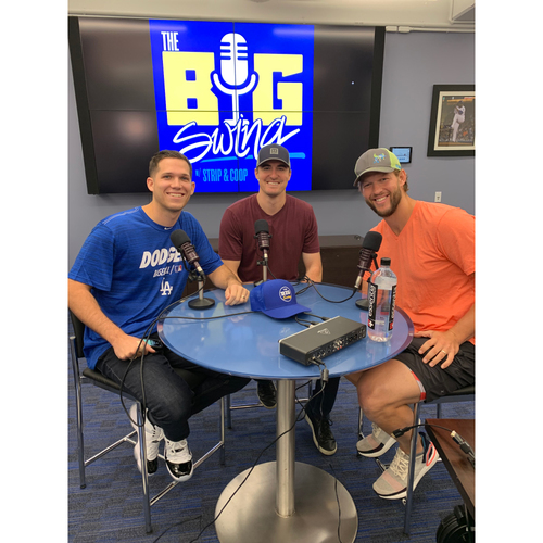 Photo of Guest Host on Big Swing Podcast with Ross Stripling