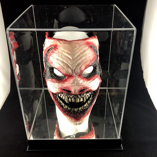 Photo of Hand crafted The Fiend Mask SIGNED by Bray Wyatt