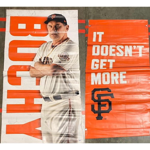 Photo of 2020 Black Friday Sale - 2019 Street Banner - #15 Bruce Bochy