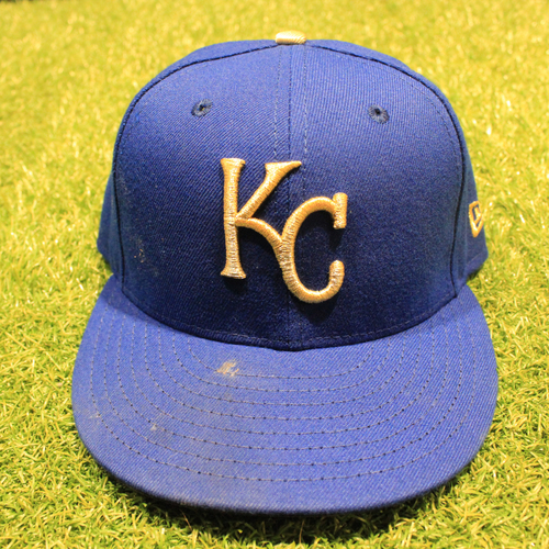 Photo of Game-Used 2020 Gold Hat: Nicky Lopez #1 (Size 7 1/8 - DET @ KC 9/25/20)