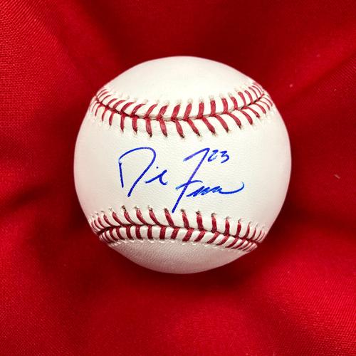 Photo of David Freese Autographed Baseball