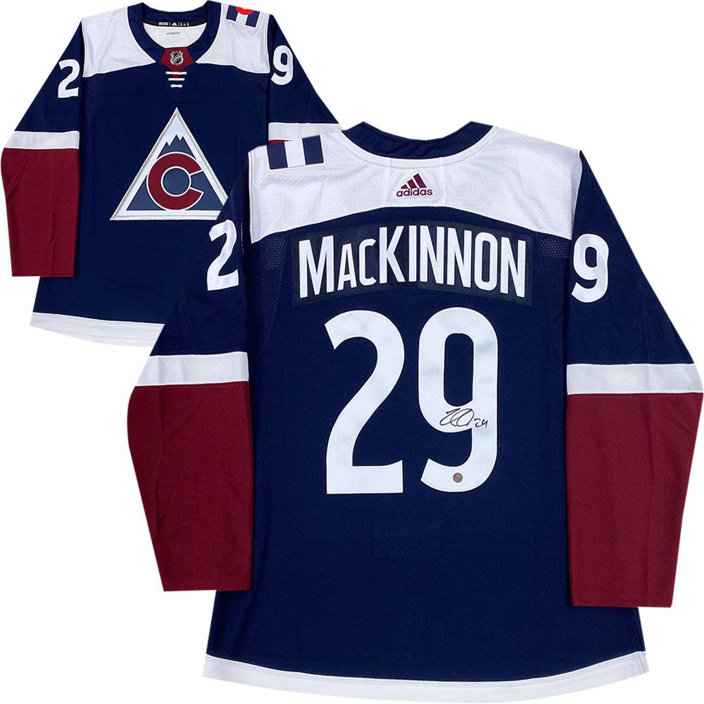 Nathan Mackinnon Autographed Colorado Avalanche adidas Pro Jersey