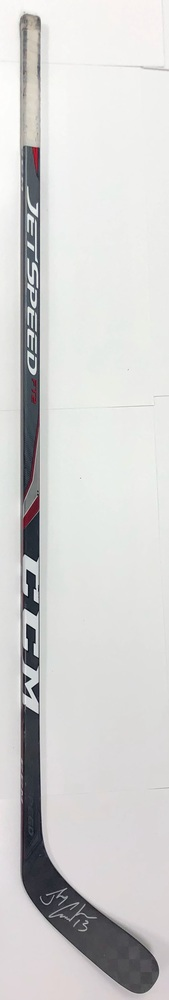 #13 Johnny Gaudreau Game Used Stick - Autographed - Calgary Flames