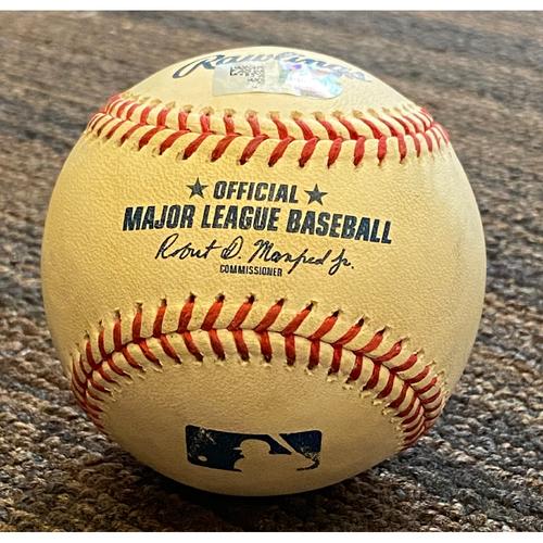 Photo of Random Game-Used Baseball - 2021 Season - 6/22 vs. Astros
