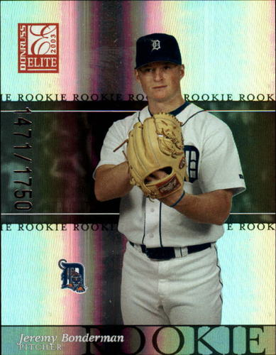 Photo of 2003 Donruss Elite #191 Jeremy Bonderman ROO RC
