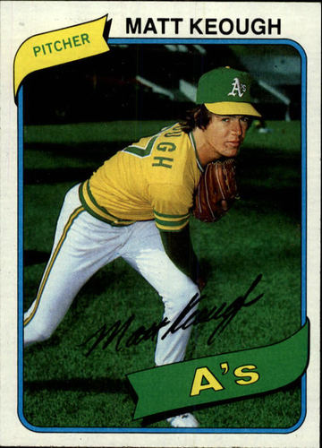 Photo of 1980 Topps #134 Matt Keough