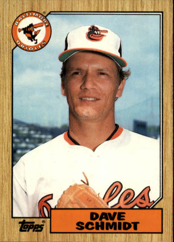 Photo of 1987 Topps Traded #110T Dave Schmidt