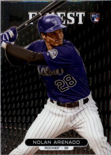 Photo of 2013 Finest #37 Nolan Arenado Rookie Card
