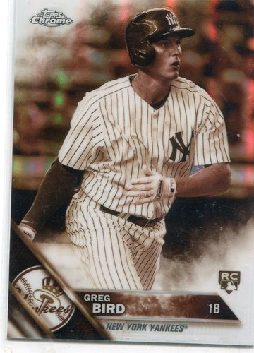 Photo of 2016 Topps Chrome Sepia Refractors #128 Greg Bird