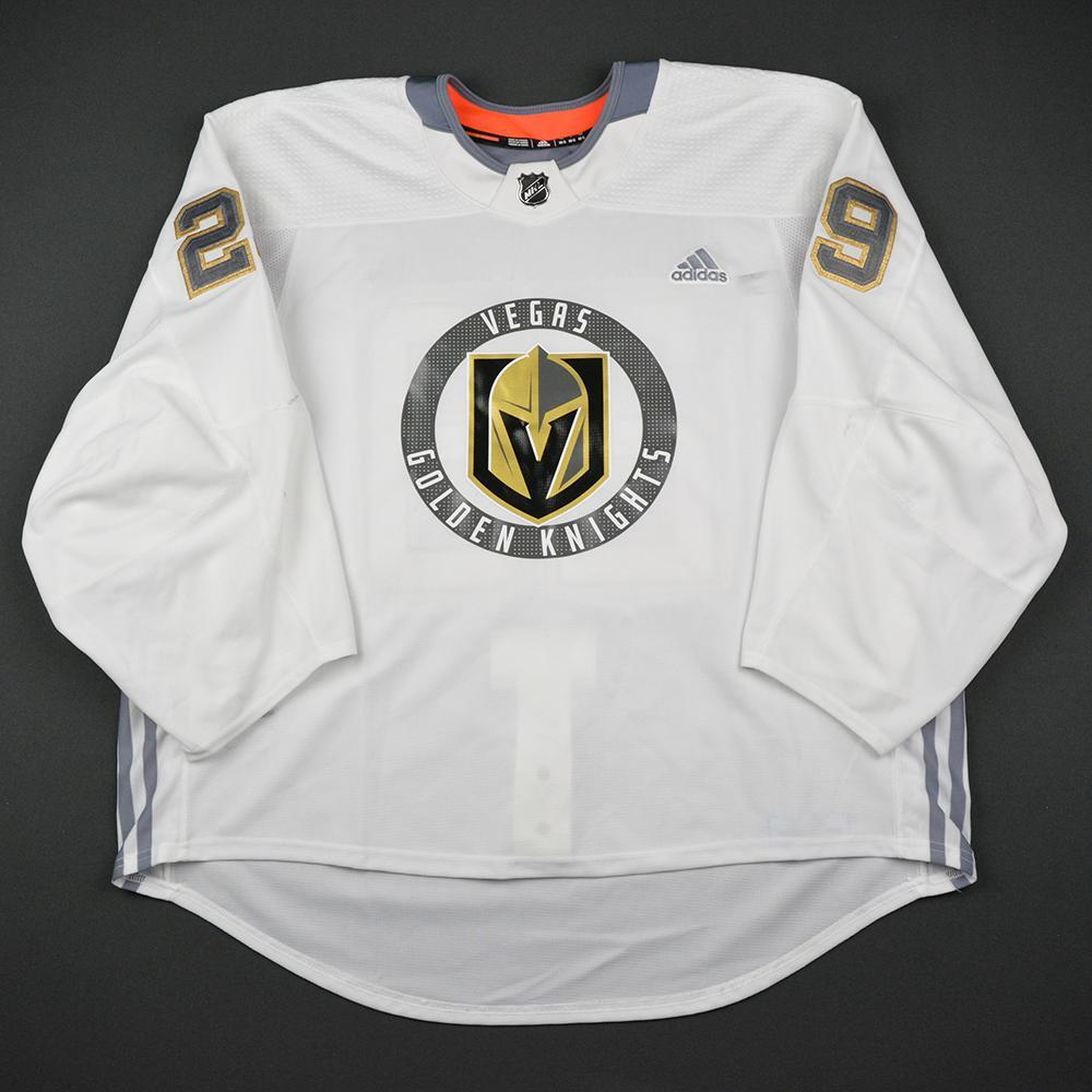 Marc-Andre Fleury Warmup Worn/Autographed Practice Jersey - Vegas Golden Knights