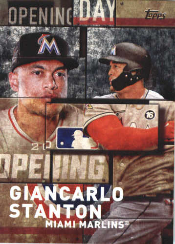 Photo of 2018 Topps Opening Day Insert #OD11 Giancarlo Stanton