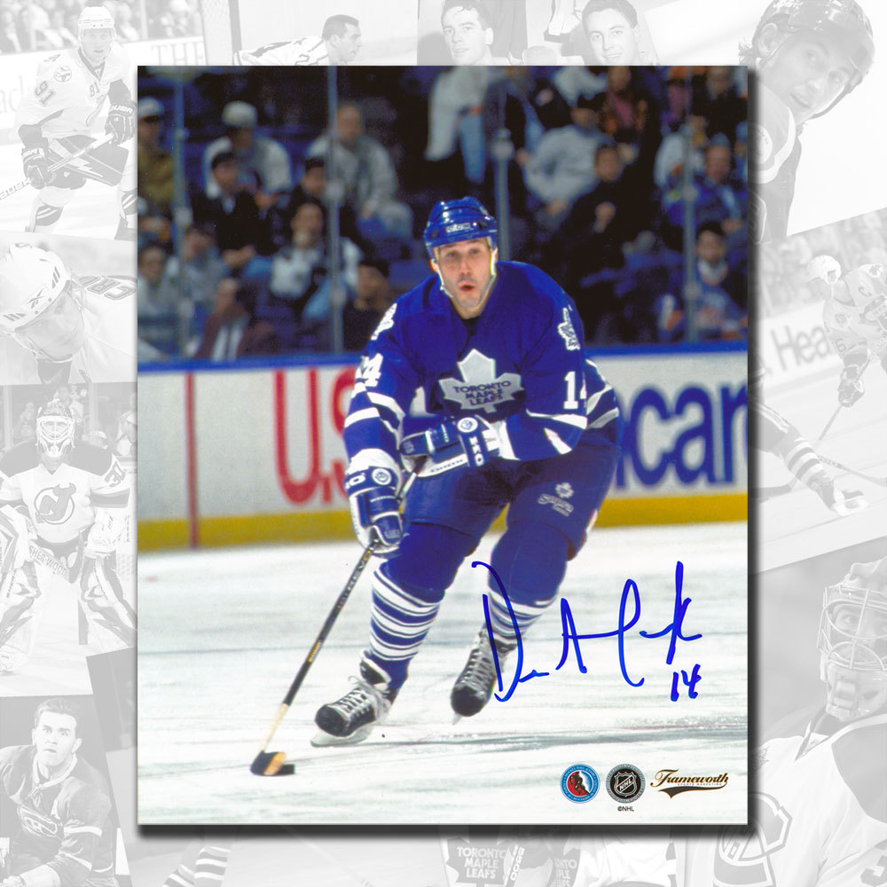 Dave Andreychuk Toronto Maple Leafs RUSH Autographed 8x10