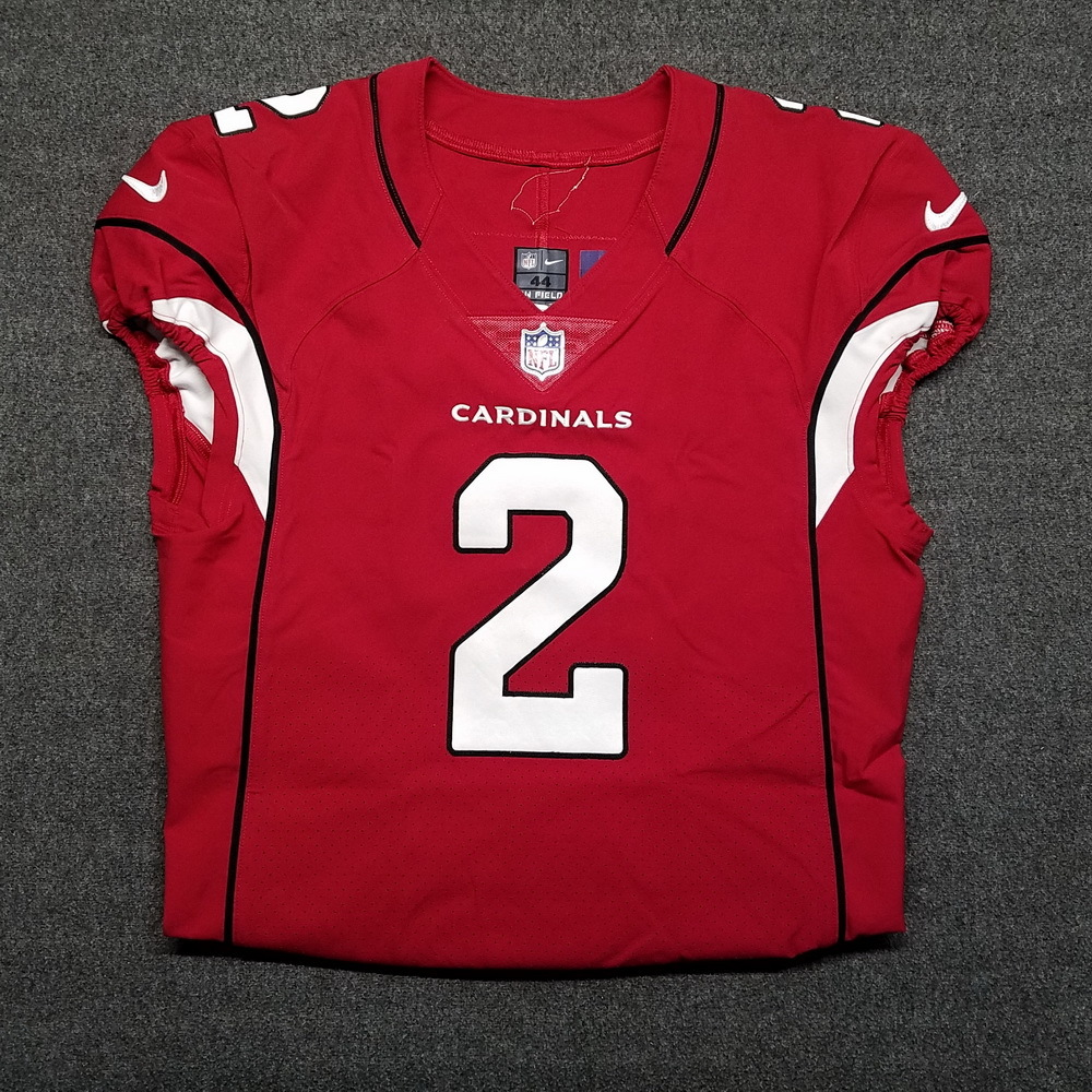 London Games - Cardinals Andy Lee game worn Cardinals jersey (October 22, 2017)