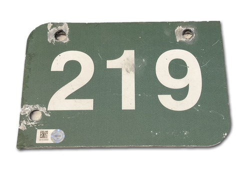 Photo of Wrigley Field Collection -- Concourse Sign - '219'
