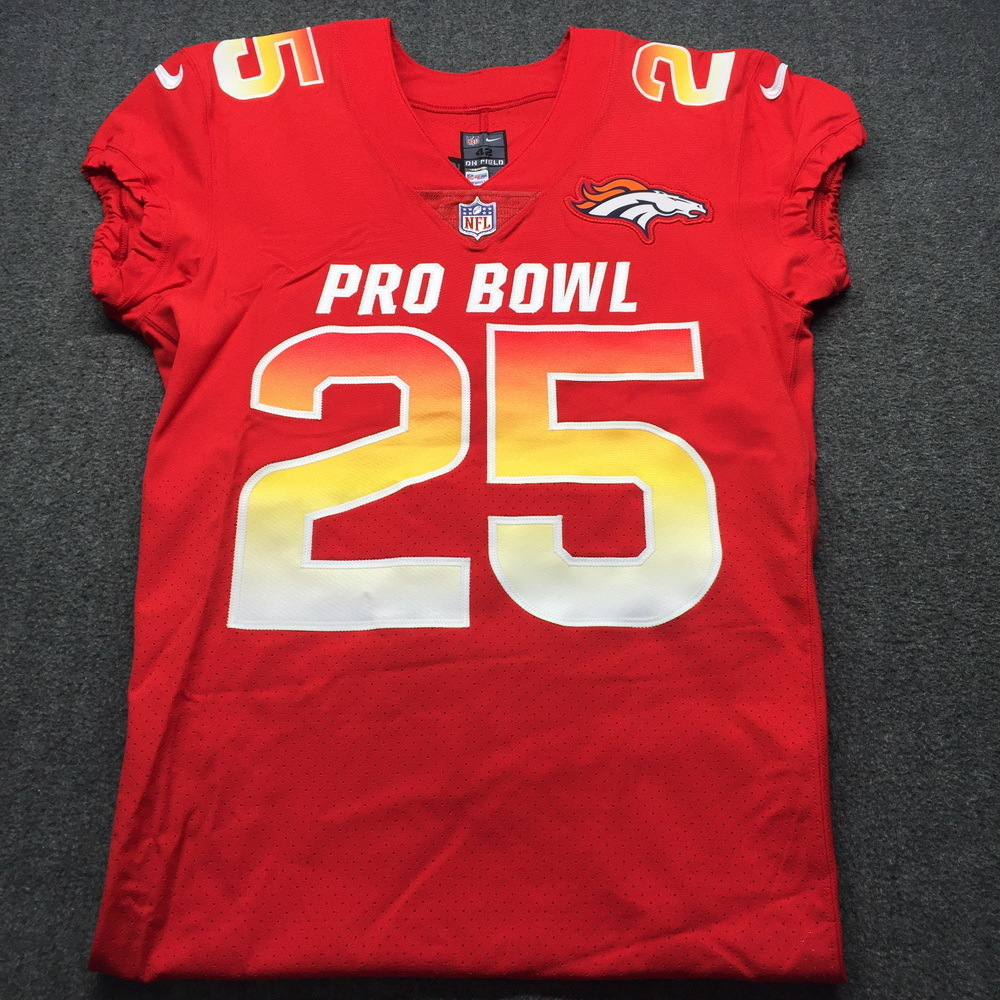 NFL - Broncos Chris Harris Jr. Game Issued 2019 Pro Bowl Jersey Size 42