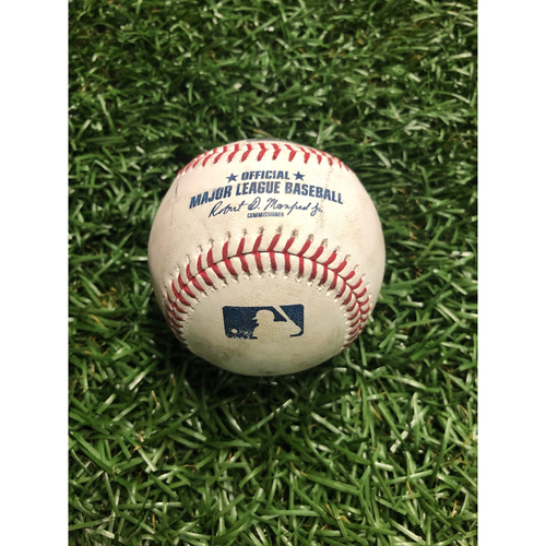 Photo of Game Used Baseball: Brendan McKay strikes out Bo Bichette - August 7, 2019 v TOR