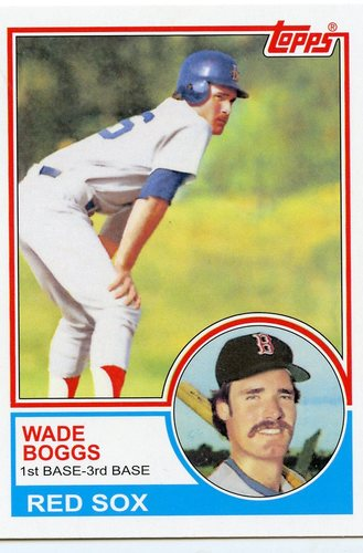 Photo of 2016 Topps Berger's Best Series 2 #BB21983 Wade Boggs