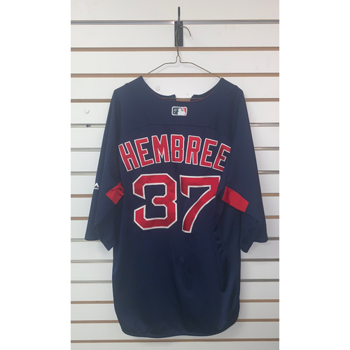 Photo of Heath Hembree Team Issued Road Batting Practice Jersey