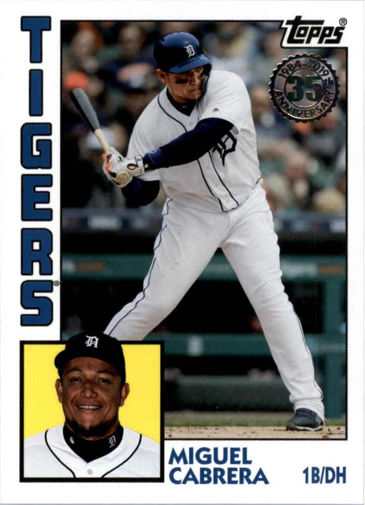 2019 Topps Update '84 Topps #846 Miguel Cabrera