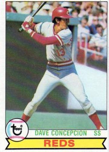Photo of 1979 Topps #450 Dave Concepcion