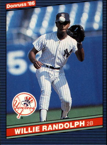 Photo of 1986 Donruss #92 Willie Randolph