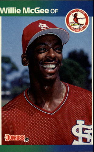 Photo of 1989 Donruss #161 Willie McGee