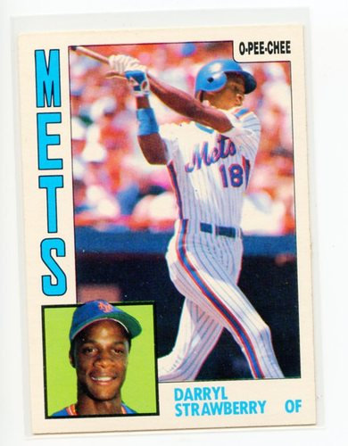 Photo of 1984 O-Pee-Chee #182 Darryl Strawberry RC