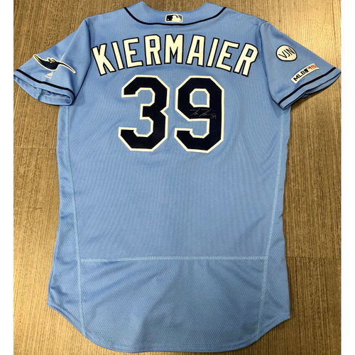 Photo of Team Issued Autographed Jersey: Kevin Kiermaier